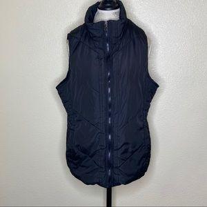 YMI Size 1X Black Zip Up Vest